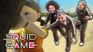 SQUID GAME OYNADIK ! (Sona Kalan Kazanır!) w/ @Mesut Can Tomay @Rıdvan Abi @Ecen