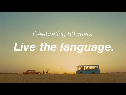 EF celebrates 50 years – Live the language