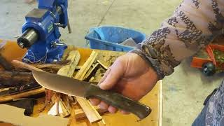 Download Bark River bushcrafter in use