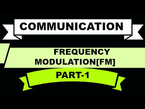 COMMUNICATION | FREQUENCY MODULATION | PART-1| BSNL JE(TTA)| JTO | ENGINEERING EXAMINATIONS