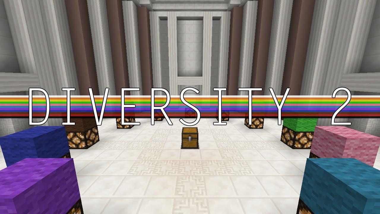 diversity map minecraft download
