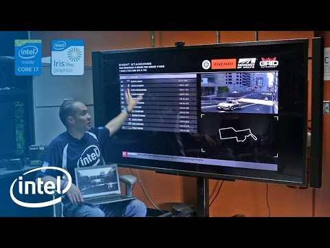 GRID Autosport: Dual-Screen Gaming Experience on Intel® Iris™ Pro Graphics 5200 | Intel