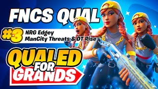 🏆 3RD in FΝCS FINALS + QUALIFIED FOR GRANDS! 🏆 (Fortnite FNCS Highlights) | NRG Edgey