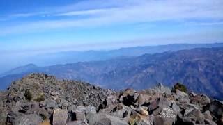 Cima del Volcán Tacaná 2013