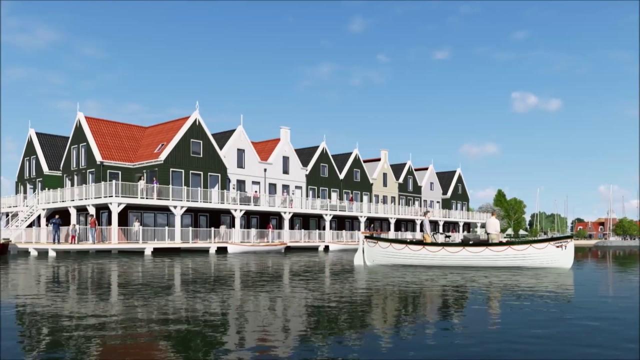 Accommodaties resort poort van amsterdam youtube for Amsterdam poort
