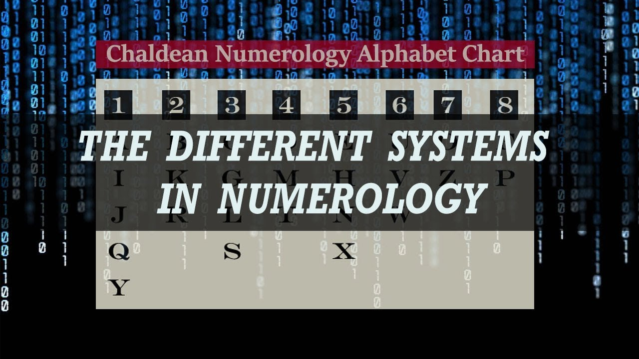 Numerology - The Four Different Systems - Chaldean, Kabbalah, Vedic,  Pythagorean