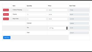 Auto Calculation with jQuery