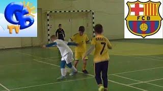 Старший брат показывает финты и забивает лучшие голы Starshiy brat the best skills