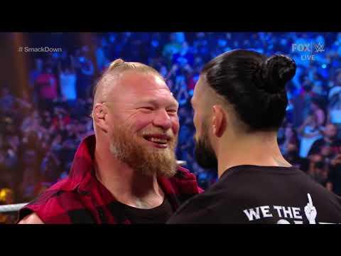 Brock Lesnar Attacks Roman Reigns & F5's The Usos   WWE SmackDown 1st Oct 2021   Full Segment