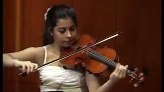 Sara Ferrandez plays Henri Vieuxtemps Viola Sonata op.36 2 mov.