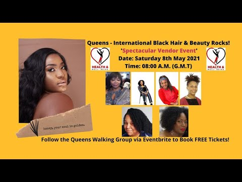 International Black Hair & Beauty Rocks  #blackhair