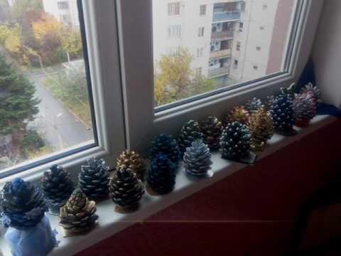 beautiful handmade pine cones