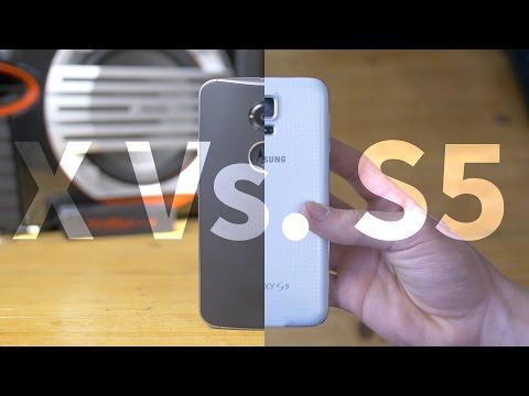 Galaxy S5 Vs. Moto X 2nd Gen in 2016 (4K)