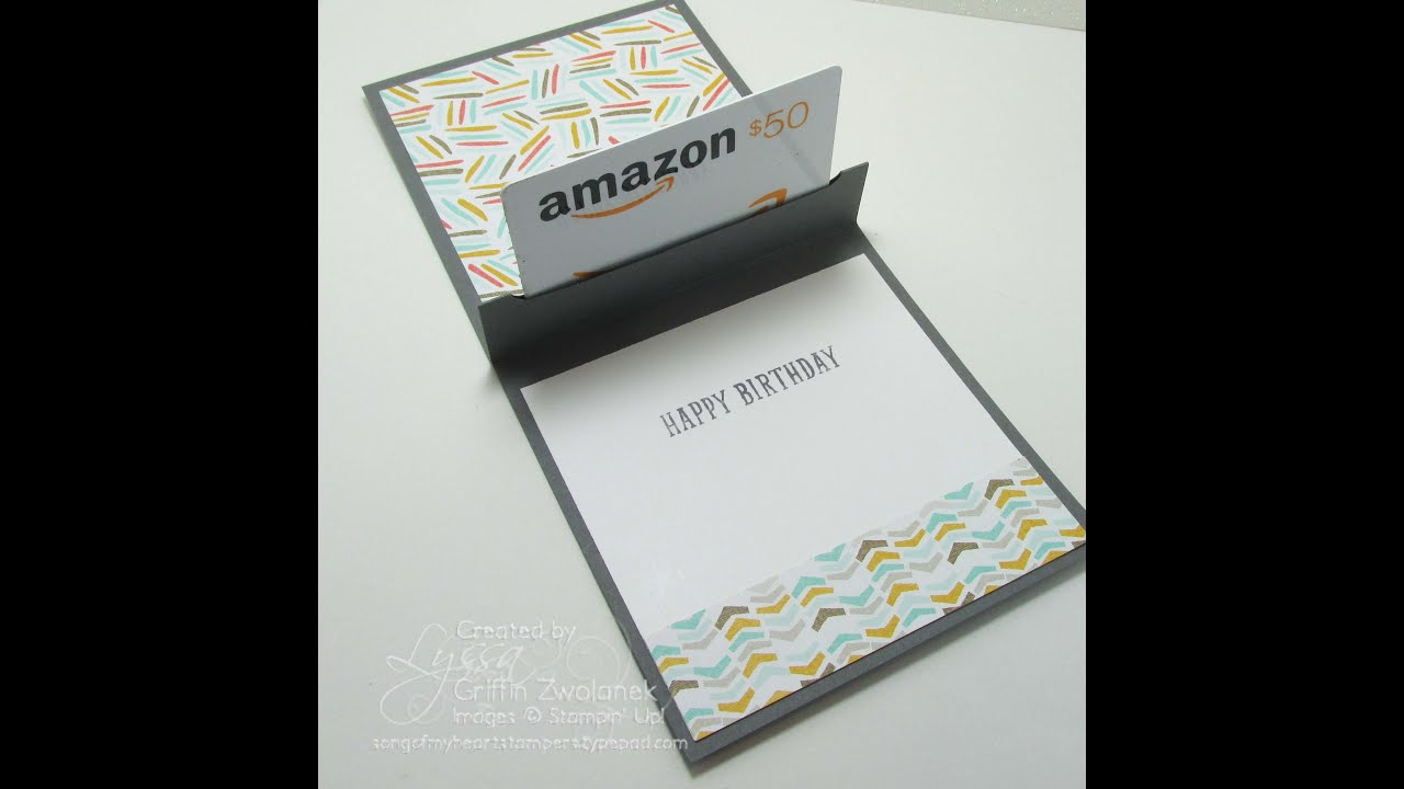 Surprise your friends pop up gift card holder youtube surprise your friends pop up gift card holder negle