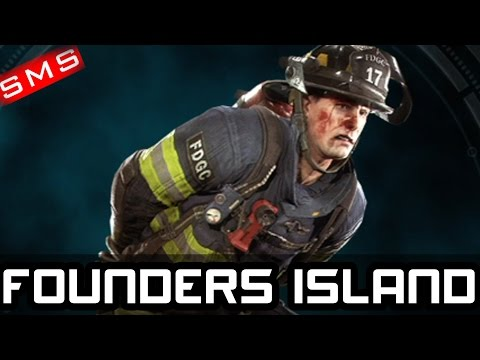 Batman: Arkham Knight ALL 6 FIREFIGHTER LOCATIONS FOUNDERS ISLAND!