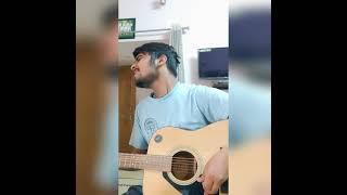 barish ki jaye || B Praak || guitar cover|| Nawazuddin Siddiqui || Sunanda sharma #shorts