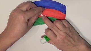 Learn geography for kids How to draw a flag Azerbaijan