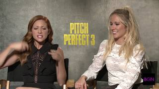 "Anna Camp and Brittany Snow chat with Joi about ""Pitch Perfect 3"""