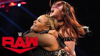 Natalya vs. Kairi Sane: Raw, Feb. 17, 2020
