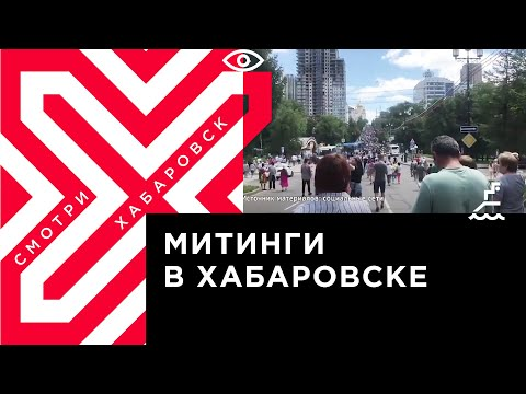 Всё о том, как проходили митинги в поддержку Сергея Фургала в Хабаровске