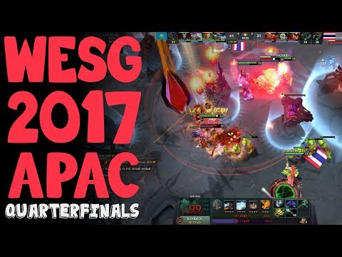 Team Kazakhstan vs Alpha Red - WESG 2017 APAC Quarterfinals Highlights