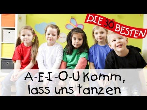 A-E-I-O-U Komm, lass uns tanzen - Singen, Tanzen und Bewegen || Kinderlieder