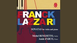 Violin Sonata in A Major: III. Recitativo - Fantasia. Ben moderato