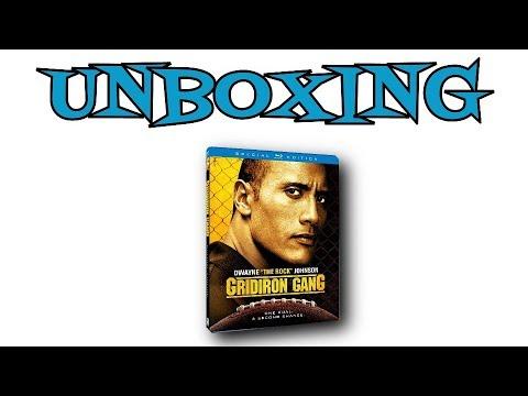 Gridiron Gang Blu-Ray Unboxing