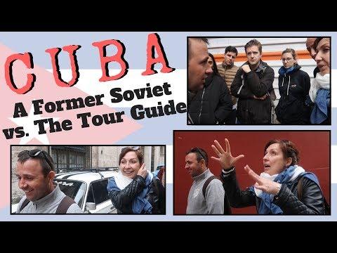 A Former Soviet Busts Balls of Havana Tour Guide