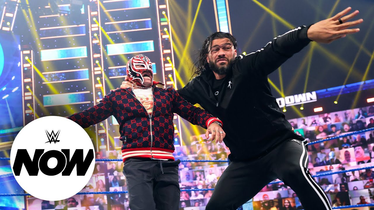 Download Roman Reigns and Rey Mysterio bring Hell in a Cell battle to SmackDown: WWE Now, June 18, 2021