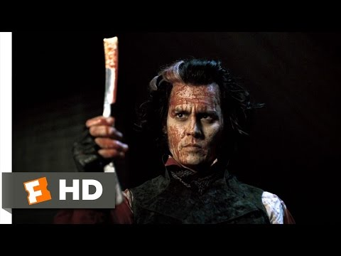 Sweeney Todd (8/8) Movie CLIP - Bloody Vengeance (2007) HD