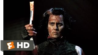 Sweeney Todd (8/8) Movie CLIP - Bloody Vengeance (2007) HD