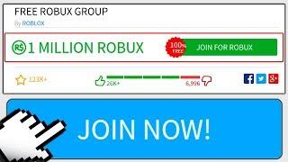 UNIRSE A ESTE GRUPO ROBLOX PARA ROBUX GRATIS!!! (Grupos Roblox)