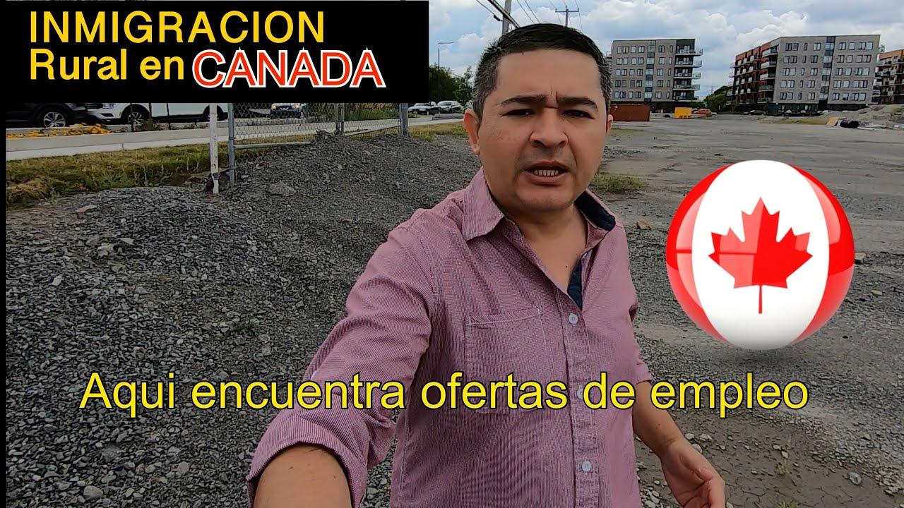 Aplicar Para Programa De Inmigracion Rural Y Del Norte En Canadá Youtube