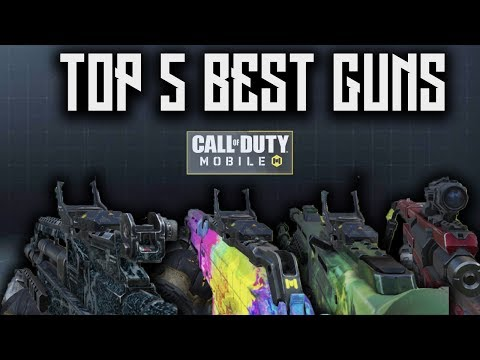 TOP 5 BEST GUNS AFTER UPDATE In Call Of Duty: Mobile (with Loadouts)