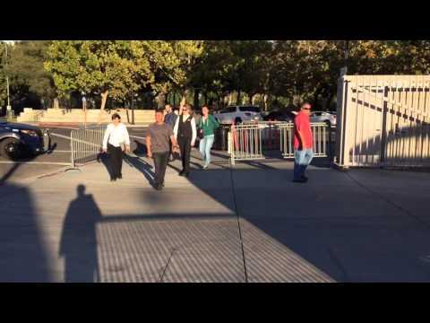 Madonna Arriving at SAP Center in San Jose 10/19/15