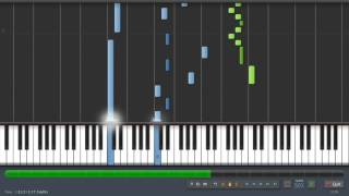 Matrix   Clubbed To Death   Piano Tutorial 50% Speed Synthesia Resimi
