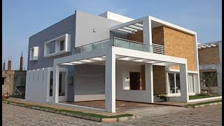 Small Modern Double Floor House 1200 Sft for 12 lakh | Elevation | Interiors