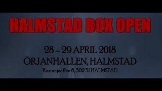 Halmstad Box Open 2018 dag 1