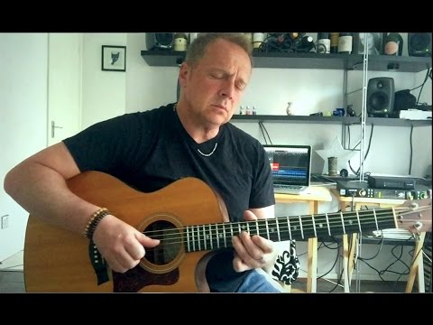 Lovely laid back acoustic guitar solo by Dave Day with CBG backing tracks