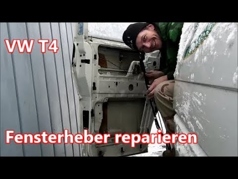 vw t4 transporter fensterheber reparieren youtube. Black Bedroom Furniture Sets. Home Design Ideas