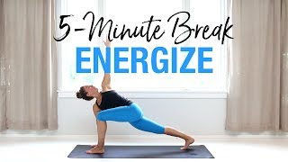 5-Minute Yoga to Energize