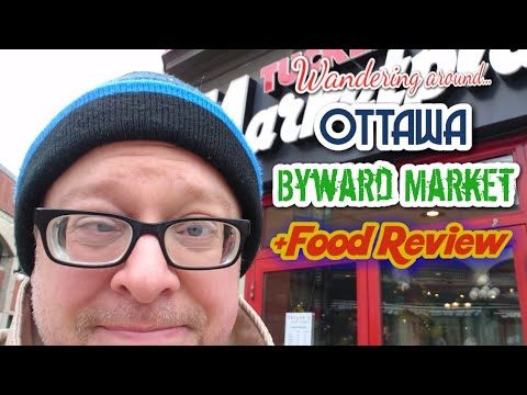 47 🌮 Wandering Around Ottawa   Byward Market   Tucker's Marketplace Food Review With Dave