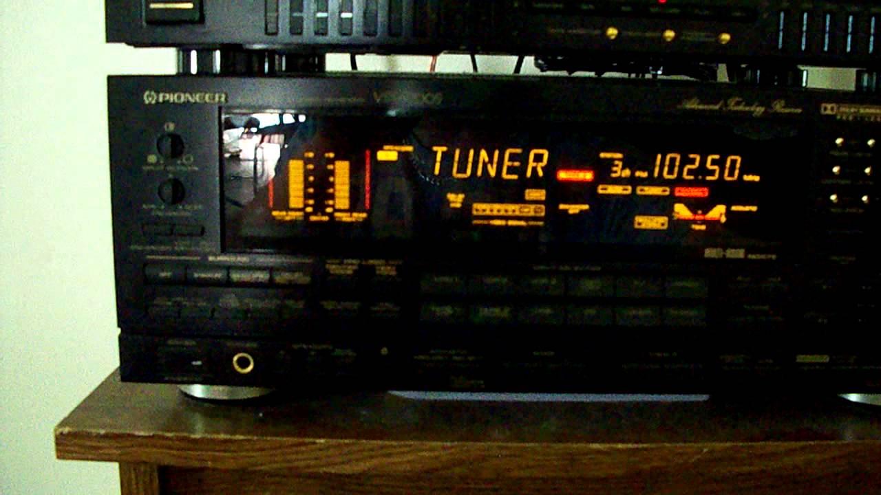 pioneer vsx 9700s audio video stereo receiver youtube rh youtube com Pioneer Receiver No Power pioneer elite receiver owner's manual