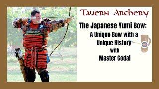 The Japanese Yumi Bow With Master Godai