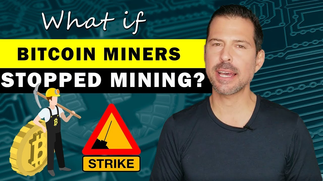 bitcoin miner has stopped working