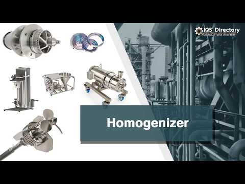 Homogenizer Manufacturers | Homogenizer Suppliers