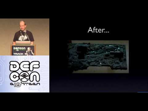 DEF CON 18 - Mike Metzger - Letting the Air Out of Tire Pressure Monitoring Systems