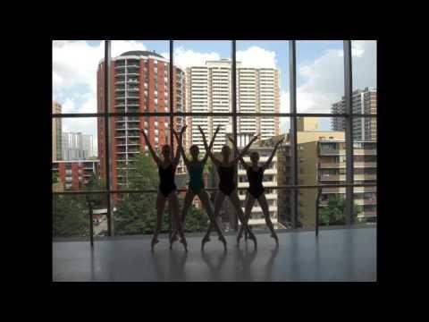 Marina Surgan - Canada's National Ballet School - Live Ballet Improvisation