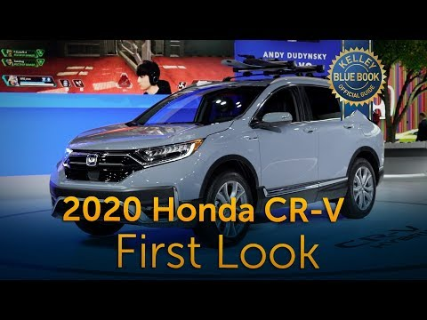 2020 Honda CR-V - First Look